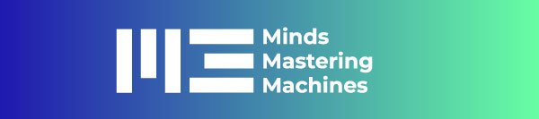 Konferenzlogo Minds Mastering Machines